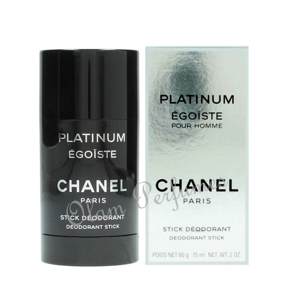 Chanel Platinum Egoiste Deodorant Stick For Men 2oz 75ml